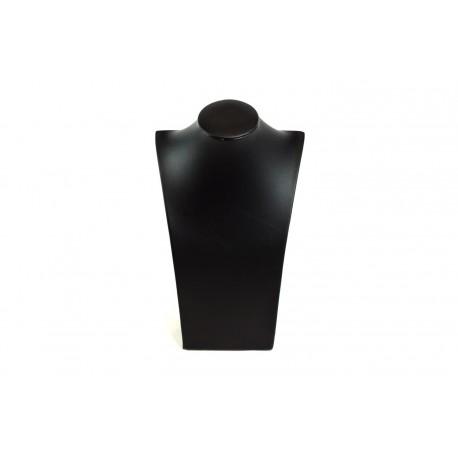 Expositor para collares polipiel negro 18x30x10cm