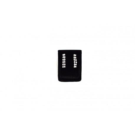 Expositor para pendientes en terciopelo negro 7x5 cm