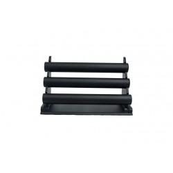 Expositor de pulseras polipiel negro 3 alturas