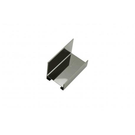 Expositor de acero cromado pequeño