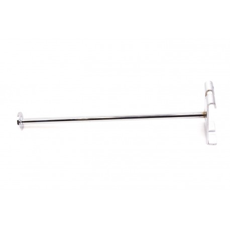 Gancho de metal para malla con tope 30cm 10mm