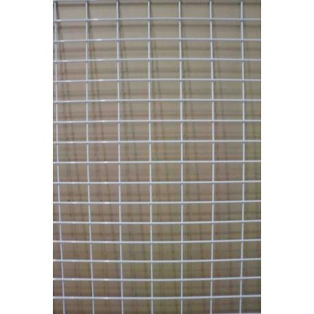 Malla expositora color blanco doble margen 70x180 cm