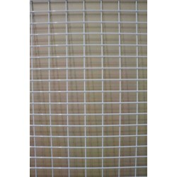 Malla expositora color blanco doble margen 90x180 cm