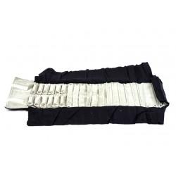 Manta grande para joyería en terciopelo negro