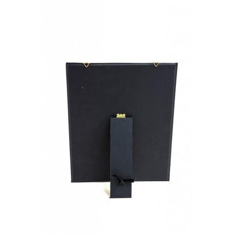 Expositor para pendientes terciopelo negro 30x40cm