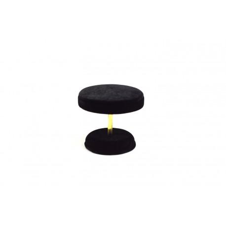 Mesa expositora para joyería en terciopelo negro 8x8x7cm