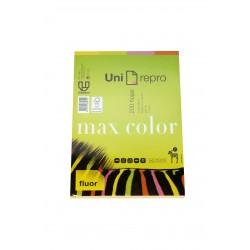 Folios de colores flúor A4 200 hojas