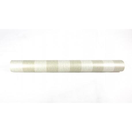 Rollo de papel pared pintado rayas beige 10 metros