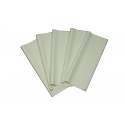 Papel de seda color blanco 62x86cm 100 und