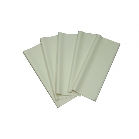 Papel de seda color blanco 62x86cm 100 und