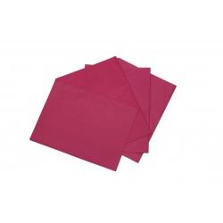 Papel de seda fucsia 75x50cm 100 unidades