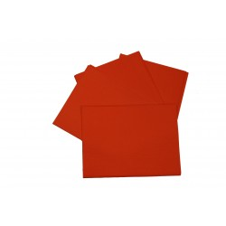 Papel de seda color rojo 75x50cm 100 und