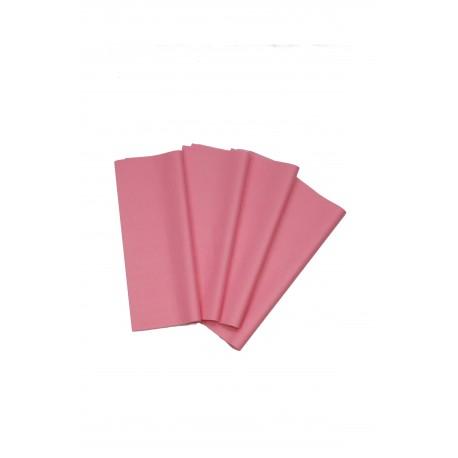 Papel de seda color rosa 75x50cm 100 und