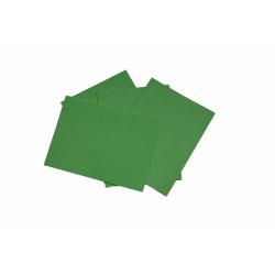 Papel de seda color verde 75x50cm 100 und