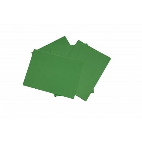 Papel de seda verde 75x50cm 100 unidades