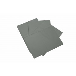 Papel de seda plata 62x86cm 100 unidades
