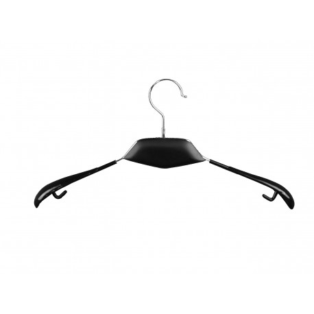 Percha de metal color negro 40cm precio unitario