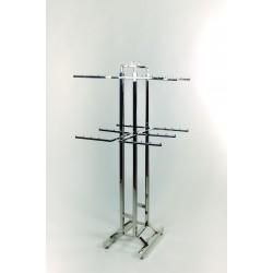 Perchero de acero cromado para ropa interior 150x66x63cm