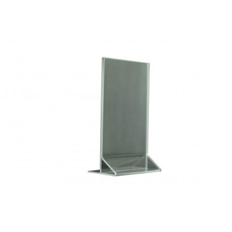 Portacartel acrílico A6 18x10.5x6cm