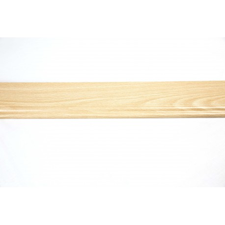 Rodapié de madera de mdf color haya 240cm