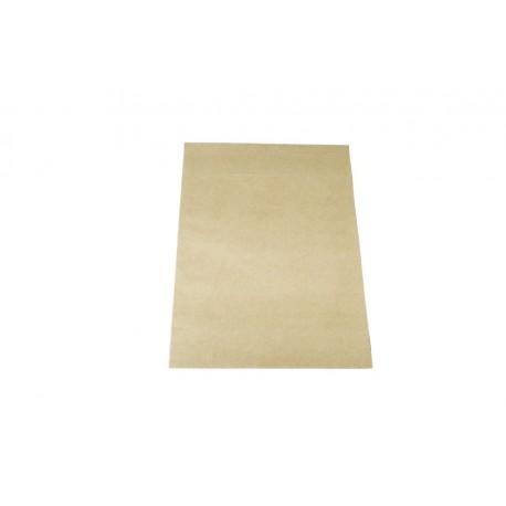Sobres de papel fuerte marrón claro 30x25+9cm 50 unidades