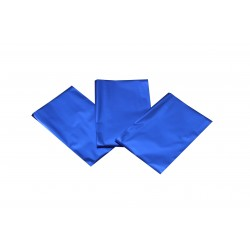 Sobres de papel azul metalizado 15x10cm 100 unidades