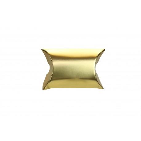 Sobres de cartón para regalos dorado 6x5x2.5cm 50 unidades