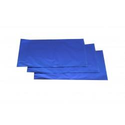 Sobres de papel azul metalizado 40x60cm 50 unidades