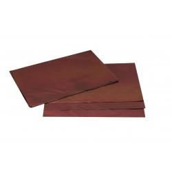 Sobres de papel marrón metalizado 60x40cm 50 unidades