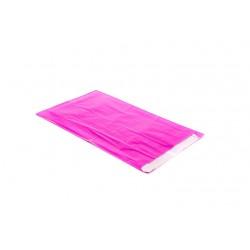 Sobres de papel celulosa fucsia 18x4x29cm 50 unidades