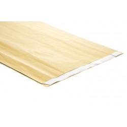 Sobres de papel celulosa oro 30x7.5x49.5cm 50 unidades