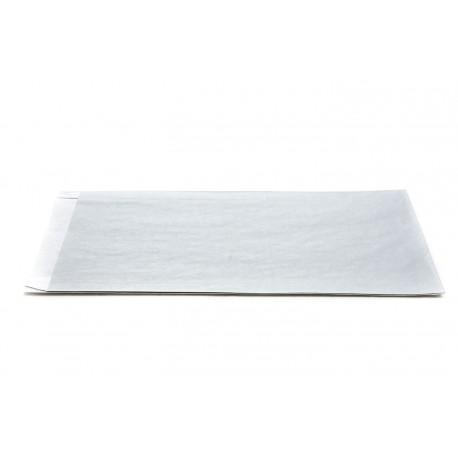 Sobres de papel celulosa plata 18x4x29cm 50 unidades