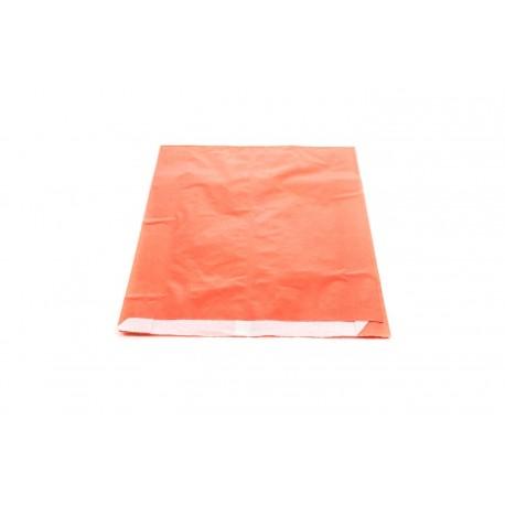 Sobres de papel celulosa rojo 18x4x29cm 50 unidades