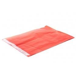Sobres de papel celulosa rojo 26x5x35cm 50 unidades