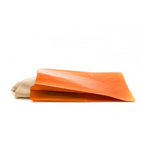 Sobres de papel kraft naranja 21.5x6.5x36cm 50unidades