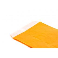 Sobres de papel celulosa naranja 12x14cm 50 unidades