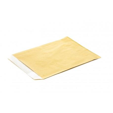 Sobres de papel celulosa oro 15x19cm 50 unidades