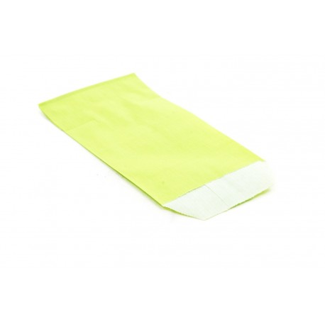 Sobres de papel celulosa verde claro 6.5x11cm 50 unidades