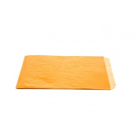 Sobres de papel kraft naranja claro 14x20x5cm 50 unidades