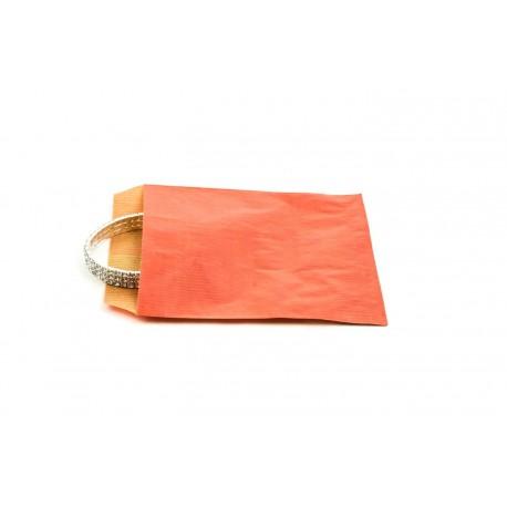 Sobres de papel kraft rojo 12x14cm 50 unidades