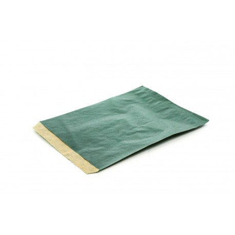 Sobres de papel kraft verde oscuro 16x12cm 50 unidades