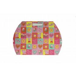 Sobres de cartón para regalos pepa pig 32x28cm 10 unidades