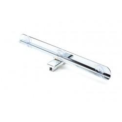 Soporte de cristal para sistema de cremallera 50mm