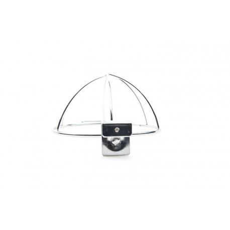 Soporte para gorras de tubo rectangular 29x18x10cm