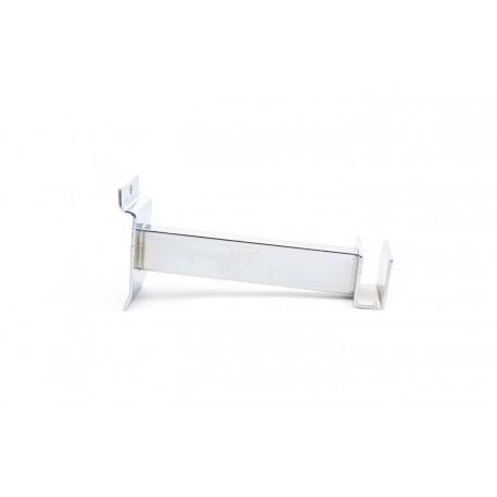 Soporte tubo rectangular para lama 15cm