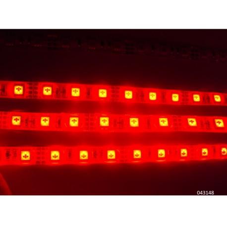 Tira de led flexible roja 60w 5m