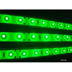 TIRA DE LED ADHESIVA FLEXIBLE COLOR VERDE 60W 12V 14,4 5M