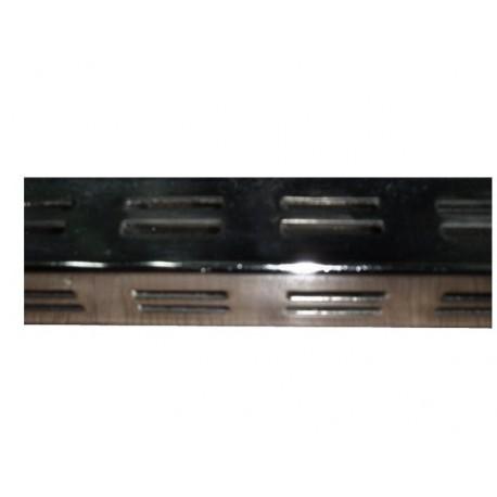 Sistema de cremallera cromada cuadrada para tiendas 4x4cm y 2.4m