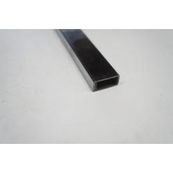 Tubo rectangular de acero cromado 3m