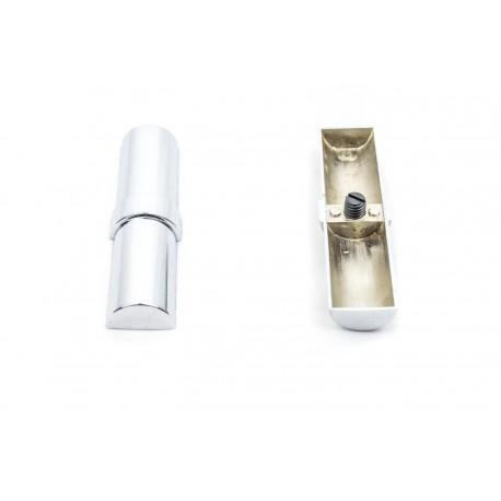 Unión de metal para 2 tubos 25mm